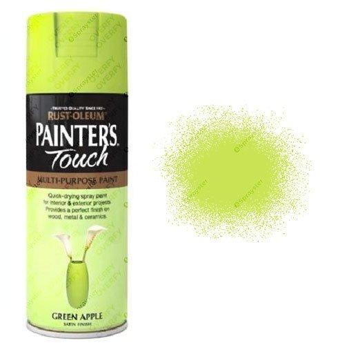 Rust-Oleum Painter's Touch Green Apple Spray Paint Satin 400ml