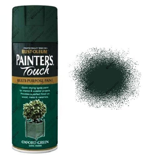 Rust-Oleum Painter's Touch Oxford Green Spray Paint Satin 400ml