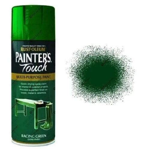 Rust-Oleum-Painter's-Touch-Racing-Green-Spray-Paint-Gloss-400ml-