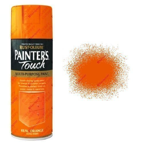 Rust-Oleum Painter's Touch Real Orange Spray Paint Gloss 400ml