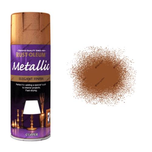 Rust-Oleum Premium 400ml Metallic Copper Spray Paint