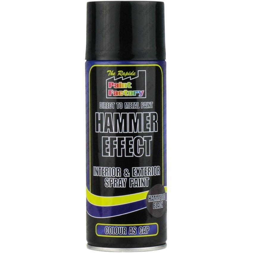 Black Hammered Spray Paint 400ml