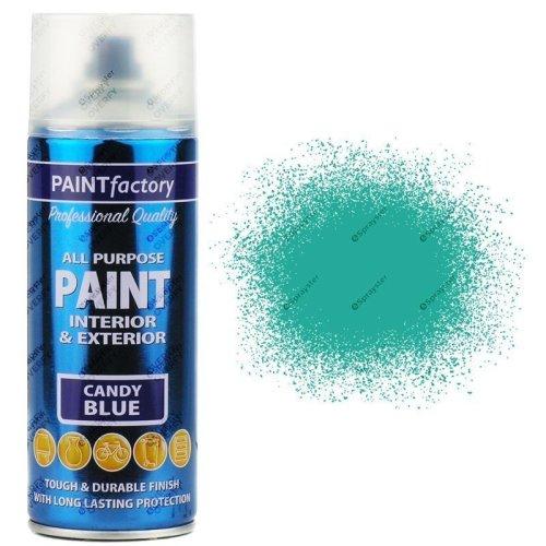 1-x-400ml-All-Purpose-Candy-Blue-Aerosol-Spray-Paint-Household-Car-Plastic