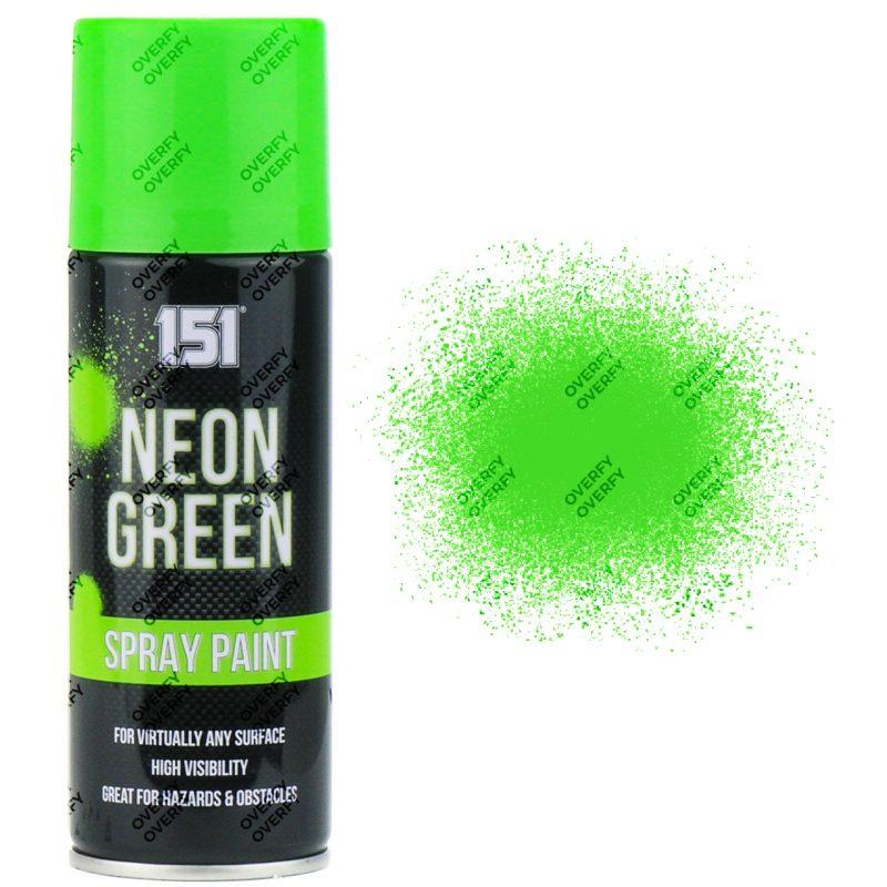 151 Fluorescent Neon Green Spray Paint 200ml