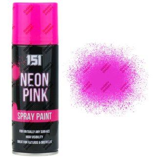 151 Fluorescent Neon Pink Spray Paint 200ml