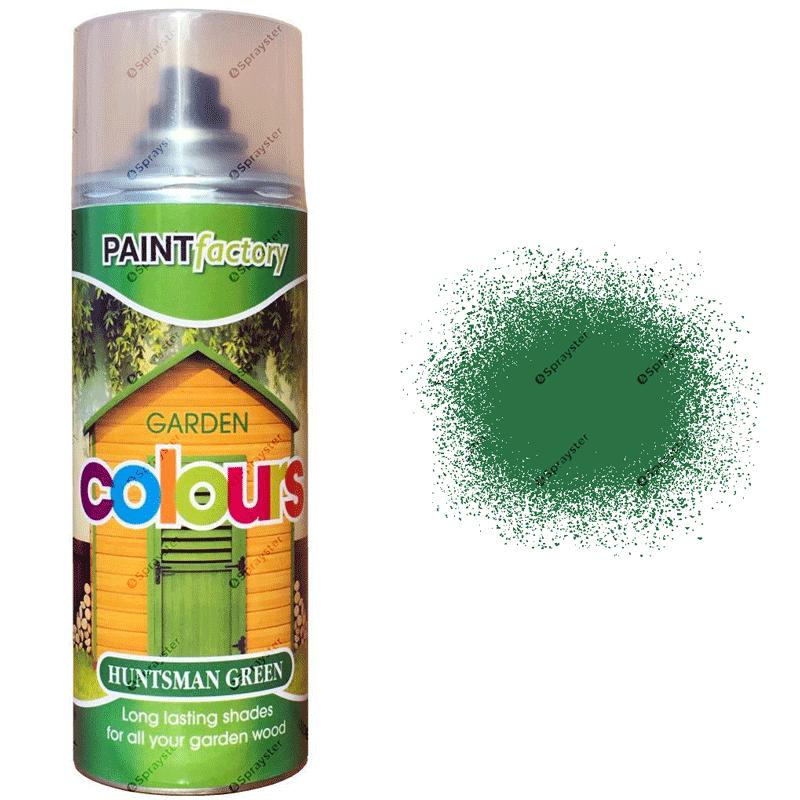 x1-Huntsman-Green-Garden-Aerosol-Spray-Paint-Lasting-Shades-For-Wood-400ml-391826802334