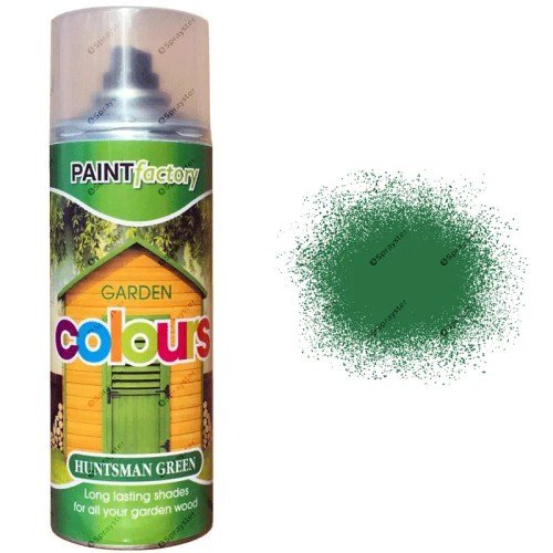 x1-Huntsman-Green-Garden-Aerosol-Spray-Paint-Lasting-Shades-For-Wood-400ml-391826802334