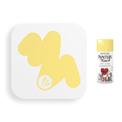 Rust-Oleum-Buttercup-Yellow-Gloss-Spray-Paint-Painter_s-Touch-Craft-Enamel-150ml