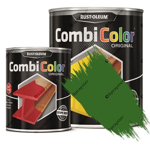 Direct-To-Metal-Paint-Rust-Oleum-CombiColor-Original-Satin-Sprayster-Grass-Green