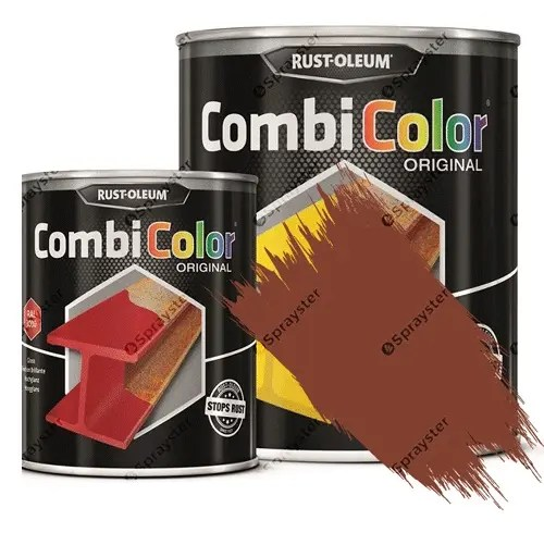 Direct-To-Metal-Paint-Rust-Oleum-CombiColor-Original-Satin-Sprayster-Red-Lilac