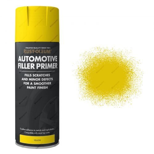 AutoMotive Yellow Filler Primer Gloss