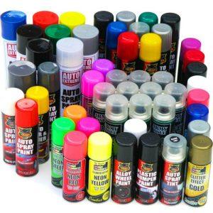 Spray-Paint-Black-White-Blue-Red-Primer-Neon-Glitter-Lacquer-Pink-Gloss-Matt-Car