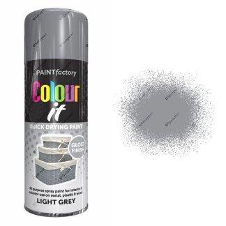 x1-Paint-Factory-Multi-Purpose-Colour-It-Spray-Paint-400ml-Light-Grey-Gloss