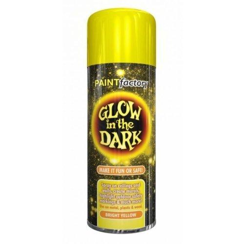 Glow In The Dark Bright Yellow Spray Paint 400ml