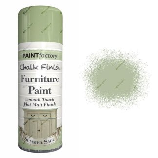 x1-Paint-Factory-Multi-Purpose-Chalk-Spray-Paint-400ml-Summer-Sage-Matt