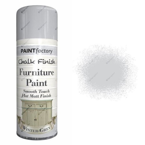x1-Paint-Factory-Multi-Purpose-Chalk-Spray-Paint-400ml-Winter-Grey-Matt