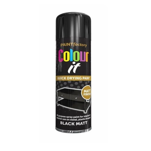 Colour It Black Matt 250ml