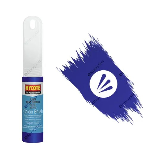 Hycote-Ford-Deep-Impact-Blue-XCFD733-Brush-Paint