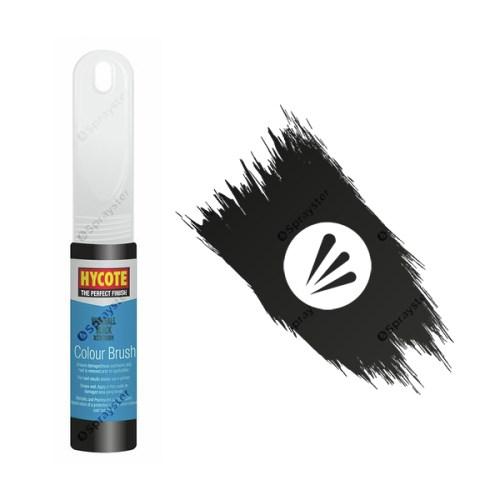 Hycote-Vauxhall-Black-XCVX091-Brush-Paint