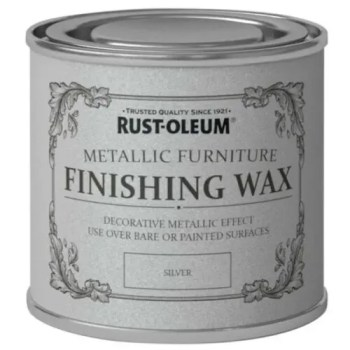 Silver Furniture Wax 400ml Rust-Oleum Shabby Chic Finish