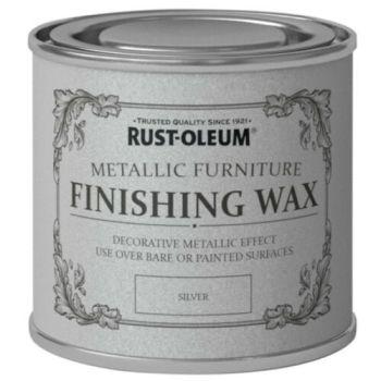 Silver Furniture Wax 400ml Rust-Oleum Shabby Chic Finish