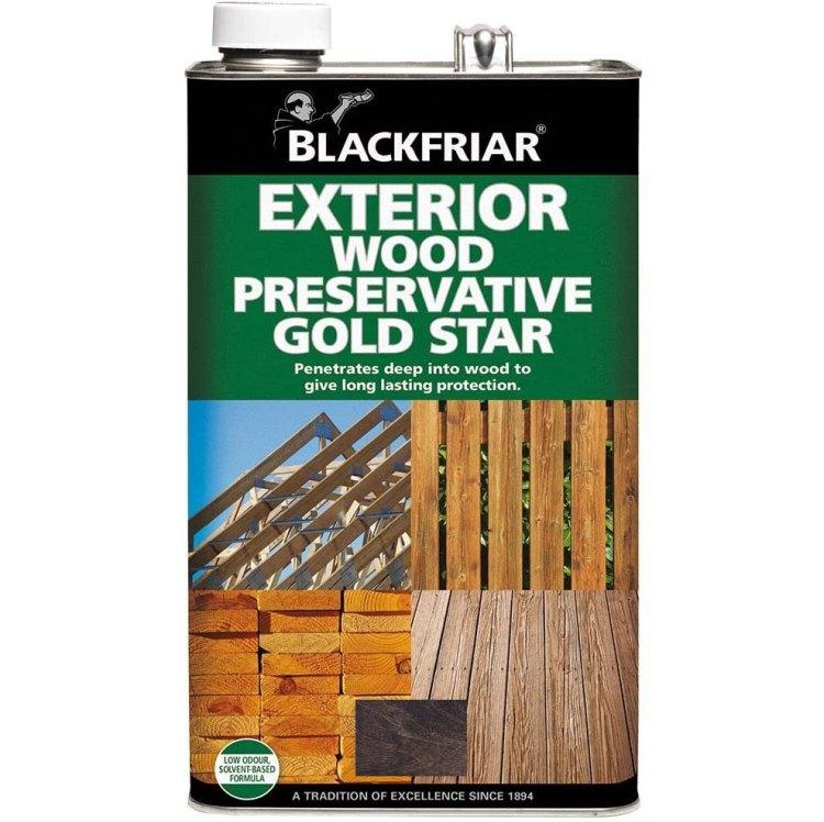 Blackfriar-Dark-Brown-Exterior-Wood-Preserver-Gold-Star
