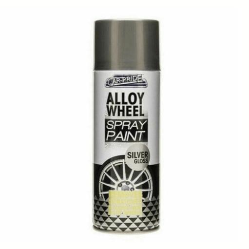 Alloy Wheel Silver Gloss