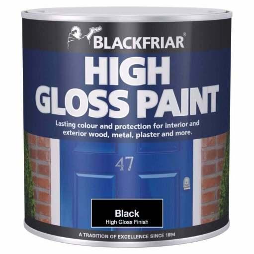 Blackfriat High Gloss Paint