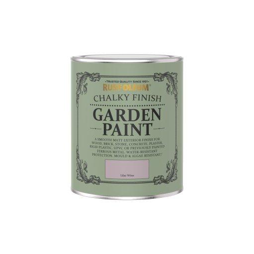 Rust-Oleum Chalky Garden Paint Lilac Wine Matt 750ml