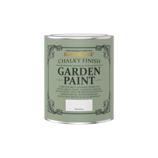 Rust-Oleum Chalky Garden Paint Moonstone Matt 750ml
