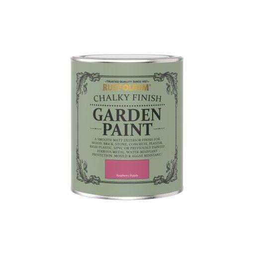 Rust-Oleum Chalky Garden Paint Raspberry Ripple Matt 750ml