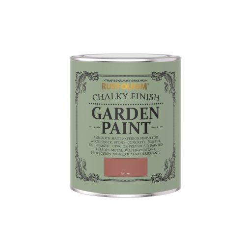 Rust-Oleum Chalky Garden Paint Salmon Matt 750ml