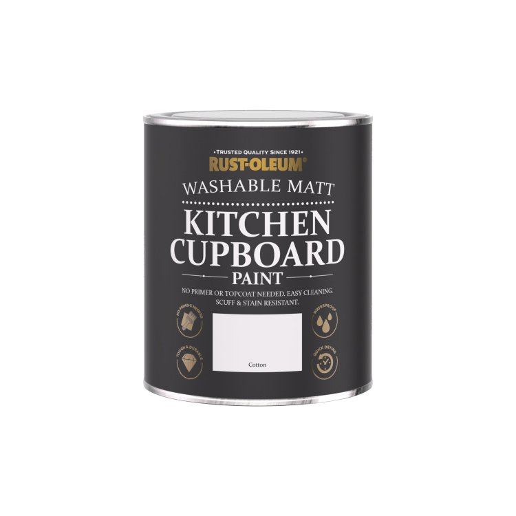 Kitchen Cupboard Paint Cotton 750ml