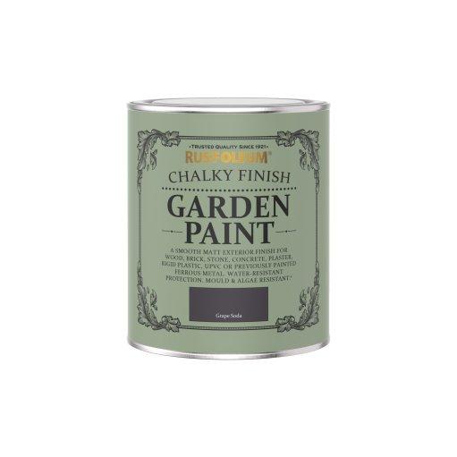 Rust-Oleum Chalky Garden Paint Grape Soda Matt 750ml