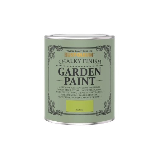 Rust-Oleum Chalky Garden Paint Key Lime Matt 750ml