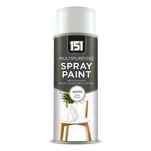 151-Multi-Purpose-White-Satin-400ml-Spray-Paint