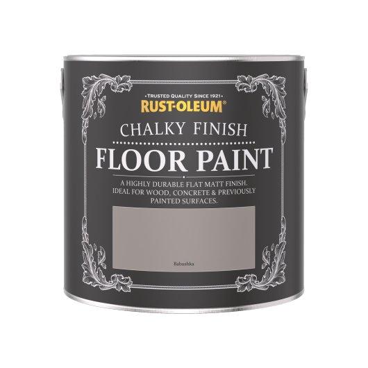 Rust-Oleum Chalky Floor Paint Babushka Matt 2.5L