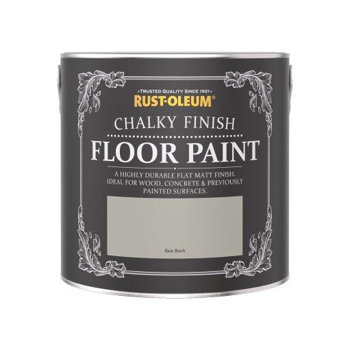 Rust-Oleum Chalky Floor Paint Bare Birch Matt 2.5L