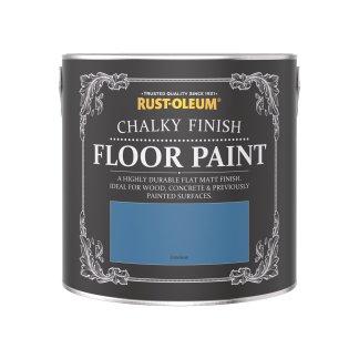 Rust-Oleum Chalky Floor Paint Cerulean Matt 2.5L