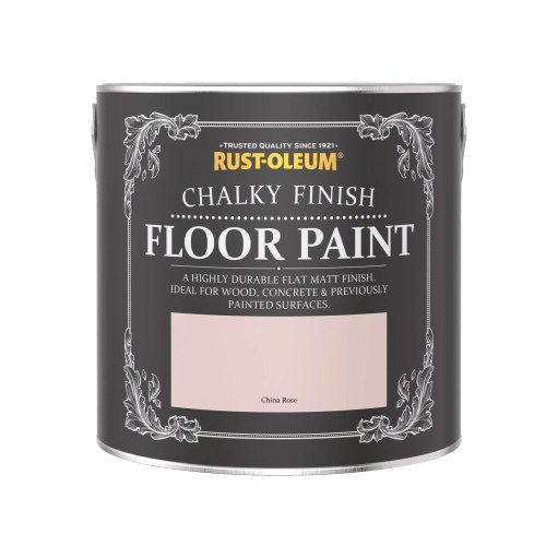 Rust-Oleum Chalky Floor Paint Chalk Rose Matt 2.5L