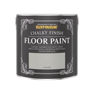 Rust-Oleum Chalky Floor Paint Steamed Milk Matt 2.5L