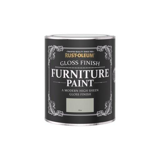 Rust-Oleum Gloss Furniture Paint Aloe 750ml