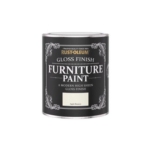 Rust-Oleum Gloss Furniture Paint Apple Blossom 750ml