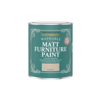 Rust-Oleum Matt Furniture Paint Butterscotch 750ml