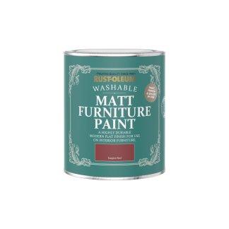Rust-Oleum Matt Furniture Paint Empire Red 750ml