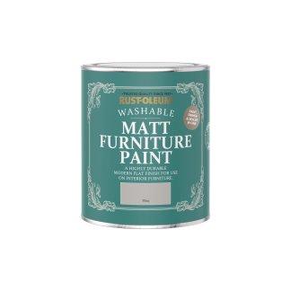 Rust-Oleum Matt Furniture Paint Flint 750ml