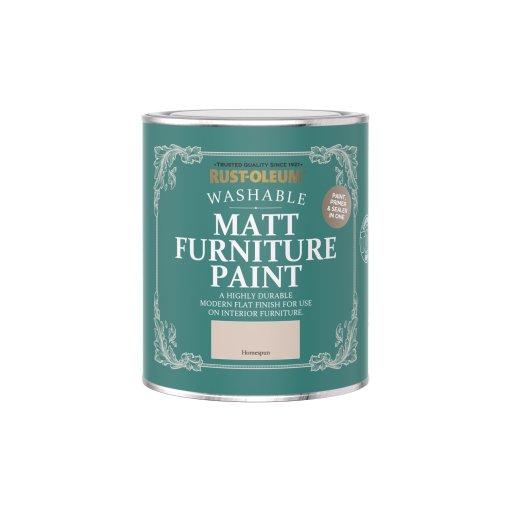 Rust-Oleum Matt Furniture Paint Homespun 750ml