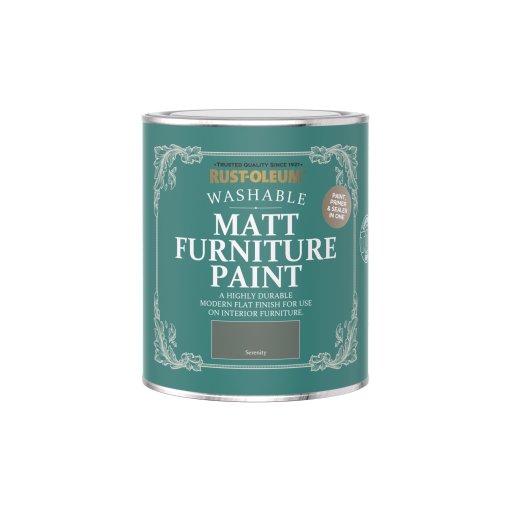 Rust-Oleum Matt Furniture Paint Serenity 750ml