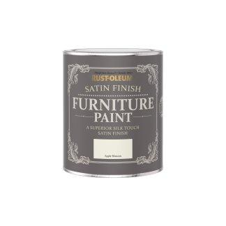 Rust-Oleum Satin Furniture Paint Apple Blossom 750ml