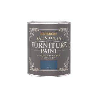 Rust-Oleum Satin Furniture Paint Cobalt 750ml
